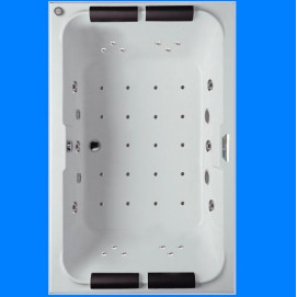 LAURA RIHO большая гидромассажная ванна 180x115 см