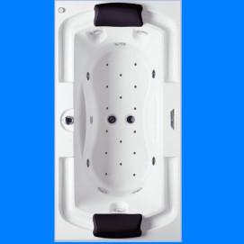 LISETTE RIHO гидромассажная ванна встраиваемая 195x105 см