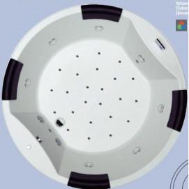 CARMEN RIHO ванна круглая с гидромассажем