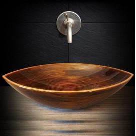 деревянная раковина Bootes Ammonitum