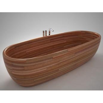 ванна из дерева сапеле Madra UWD 190х80