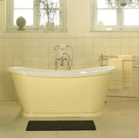 BOAT Traditional Bathrooms ванна акриловая овальная отдельностоящая на постаменте классика