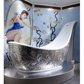 Ванны с мозаикой