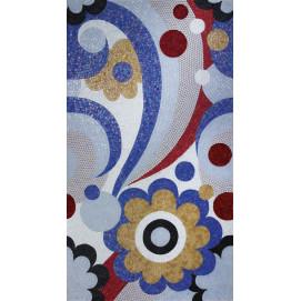"""Neoglass Sicis цветочные мозаичные панно и """"ковры"""" для стен из смальты на заказ"""