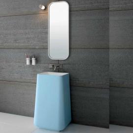03 OP 31 02 Rexa design Opus цветная раковина напольная 85 см