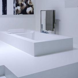 BIBLIO80 Antonio Lupi большая ванна прямоугольная встраиваемая