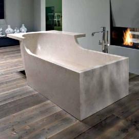 TALAMO Ванна прямоугольная из камня Antonio Lupi