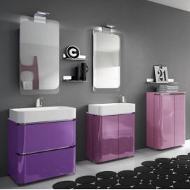 AC03 ACACIA Комплект мебели для ванной комнаты 70+70х 72 см ARDECO