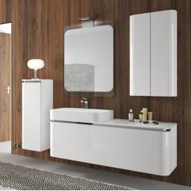AC04 ACACIA Комплект мебели для ванной комнаты 140х 51х 50 см ARDECO