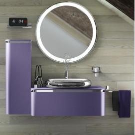 AC06 ACACIA Комплект мебели для ванной комнаты 140х 51х 34 см ARDECO