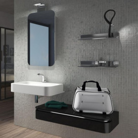 AC13 ACACIA Комплект мебели для ванной комнаты 145х 51х13 см ARDECO