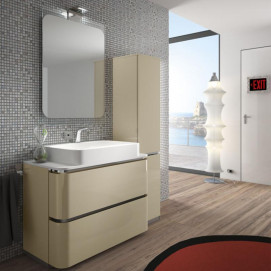 AC17 ACACIA Комплект мебели для ванной комнаты 135х 51х 72 см ARDECO