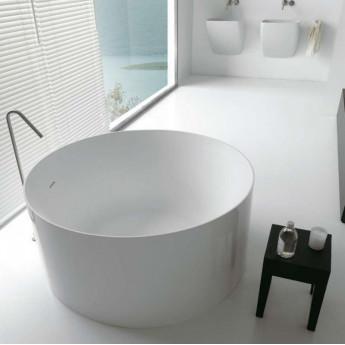 Atmosfere Tonda Colacril ванна круглая отдельностоящая 120 или 140 см белая или черная
