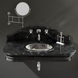 DEPALACEBICR Консоль под раковину со столешницей из мрамора и металлической опорной конструкцией Devon Devon