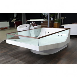 Victory Spa Milano ванна со стеклянными бортиками