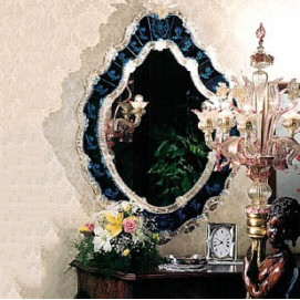 1051 Venetian Style Mirrors зеркало Fratelli Tosi