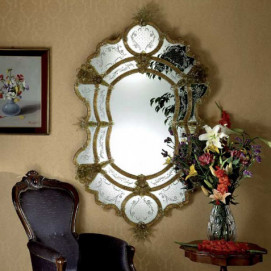 1073 Venetian Style Mirrors зеркало Fratelli Tosi
