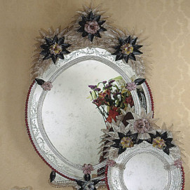 1076 Reproduction of antique mirrors зеркало Fratelli Tosi