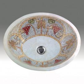 AP-1420 Mosaic Hand Painted раковина Atlantis Porcelain Art