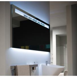 TALK Зеркало с блестящей кромкой и декоративной надписью Antonio Lupi