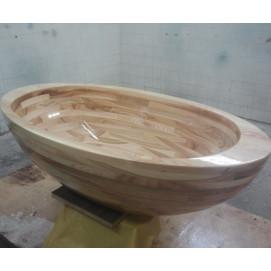 Ванна деревянная овальная отдельностоящая Baula UWD