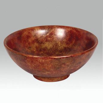AP-1615 Gold Damask раковина круглая накладная с декором Atlantis Porcelain Art