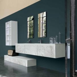 Set 001 360Gradi комплект мебели для ванной комнаты Altamarea