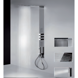 Tremillimetri Gessi душевая панель со встроенным термостатическим смесителем
