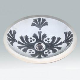 AP-1420 St Andrews Hand Painted раковина Atlantis Porcelain Art