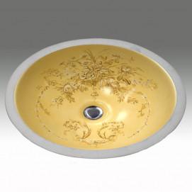 AP-1420 Bouquet Hand Painted раковина Atlantis Porcelain Art
