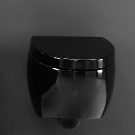 S511 унитаз подвесной черный OVAL AET