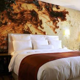 Стеновая панель, влагостойкая из алюминия с изображением LIQUID DREAMS. Стоимость за м2.