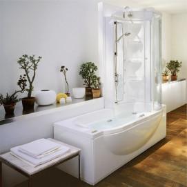 Amea Twin Premium Jacuzzi комбинированная ванна с душем 180х86см