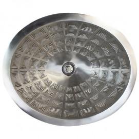 B036 овальная раковина из бронзы Oval Pantheon Linkasink