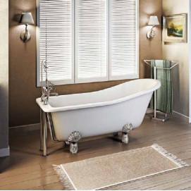 Buckingham Slipper Burlington ванна акриловая на ножках классика 150 см