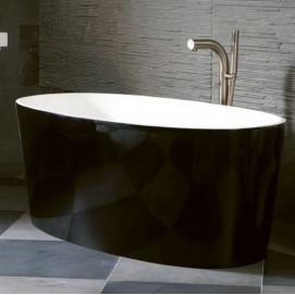 ванна Ios Victoria+Albert черная