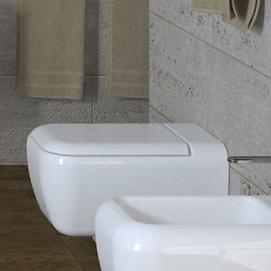 Shui Cielo унитаз подвесной керамический увеличенного размера белый, черный или цветной