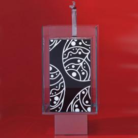 NLA4242TCIV Lavabi раковина из стекла Cogliati