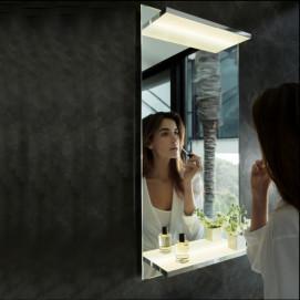 11198 Зеркало с подсветкой и полочками Edition 11 Keuco