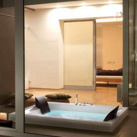2ERA6N2 Era Plus ванна Professional Whirlpool Airpool Hafro