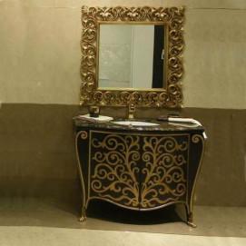 Set 002 Nouveau Gamadecor комплект мебели для ванной комнаты
