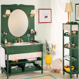 Комплект мебели для ванной комнаты Green & Roses №2 Eurodesign