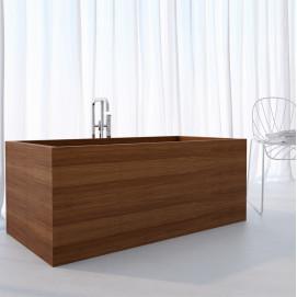 Ванна деревянная отдельностоящая UWD Gaia