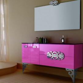 Composizione 4 Glamour комплект мебели для ванной Eurolegno
