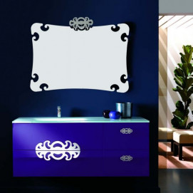Composizione 7 Glamour комплект мебели для ванной Eurolegno