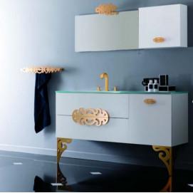 Composizione 10 Glamour комплект мебели для ванной Eurolegno
