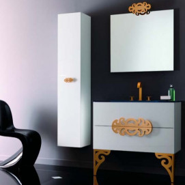 Composizione 11 Glamour комплект мебели для ванной Eurolegno