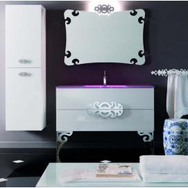 Composizione 12 Glamour комплект мебели для ванной Eurolegno