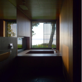 Встроенная ванна из дерева (размер на заказ) UWD
