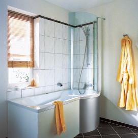 638.100121 Piccolo малогабаритная ванна Duscholux